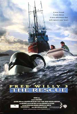 Free Willy 3: The Rescue - 11 x 17 Movie Poster - Style A