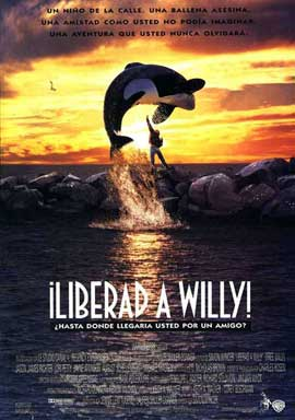 Free Willy - 27 x 40 Movie Poster - Spanish Style A