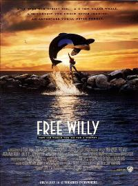 Free Willy - 43 x 62 Movie Poster - Bus Shelter Style A