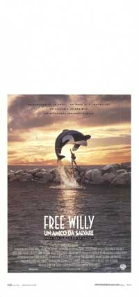 Free Willy - 13 x 28 Movie Poster - Italian Style A