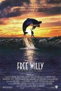 Free Willy - 11 x 17 Movie Poster - Style A - Museum Wrapped Canvas