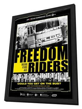 Freedom Riders - 11 x 17 Movie Poster - Style B - in Deluxe Wood Frame