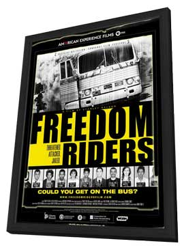Freedom Riders - 27 x 40 Movie Poster - Style B - in Deluxe Wood Frame