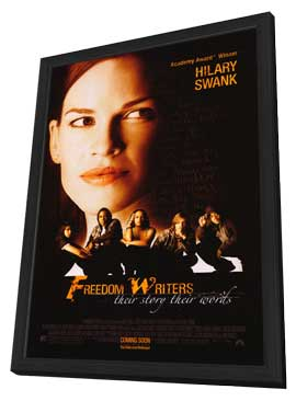 Freedom Writers - 27 x 40 Movie Poster - Style B - in Deluxe Wood Frame