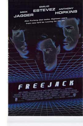 Freejack - 11 x 17 Movie Poster - Style C