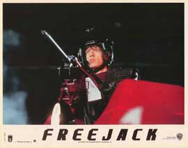 Freejack - 11 x 14 Poster French Style D