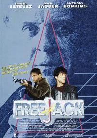 Freejack - 27 x 40 Movie Poster - German Style A