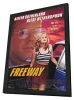 Freeway - 11 x 17 Movie Poster - Style A - in Deluxe Wood Frame