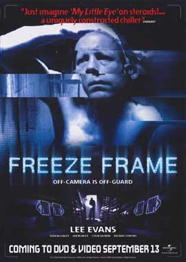 Freeze Frame - 11 x 17 Movie Poster - Style A