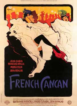 French Can-Can - 11 x 17 Movie Poster - Style A