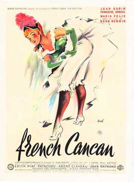 French Can-Can - 27 x 40 Movie Poster - French Style A