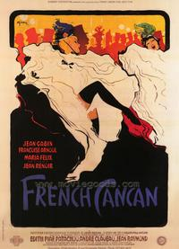 French Can-Can - 43 x 62 Movie Poster - Bus Shelter Style A