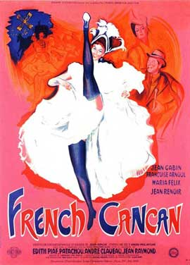 French Can-Can - 11 x 17 Movie Poster - French Style B