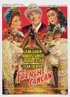 French Cancan - 11 x 17 Movie Poster - Belgian Style A