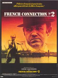 French Connection 2 - 27 x 40 Movie Poster - French Style A