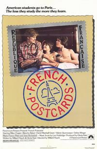 French Postcards - 11 x 17 Movie Poster - Style A