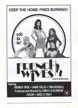 French Wives - 11 x 17 Movie Poster - Style A