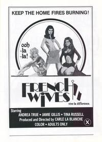 French Wives - 27 x 40 Movie Poster - Style A