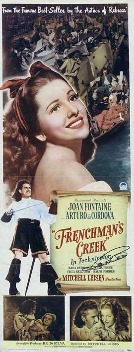 Frenchman's Creek - 14 x 36 Movie Poster - Insert Style B