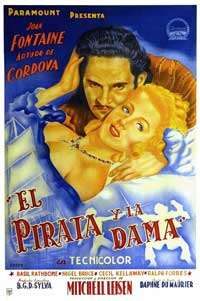 Frenchman's Creek - 11 x 17 Movie Poster - Spanish Style A