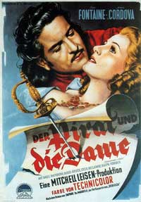 Frenchman's Creek - 11 x 17 Movie Poster - German Style A