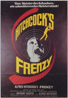 Frenzy - 11 x 17 Movie Poster - German Style A