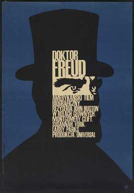 Freud - 11 x 17 Movie Poster - Polish Style A