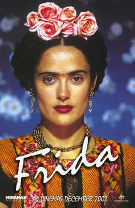 Frida - 11 x 17 Movie Poster - Style D