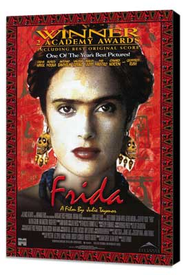 Frida - 27 x 40 Movie Poster - Style A - Museum Wrapped Canvas