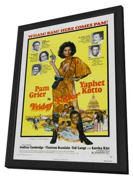 Friday Foster - 11 x 17 Movie Poster - Style A - in Deluxe Wood Frame