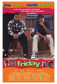 Friday - 11 x 17 Movie Poster - Style A - Museum Wrapped Canvas