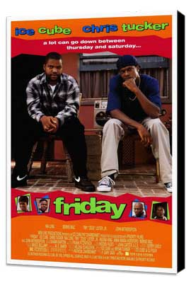 Friday - 27 x 40 Movie Poster - Style A - Museum Wrapped Canvas
