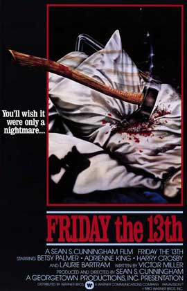 Friday the 13th - 11 x 17 Movie Poster - Style B