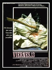 Friday the 13th - 27 x 40 Movie Poster - Spanish Style A