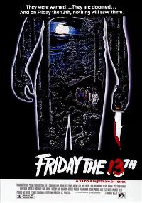 Friday the 13th - 43 x 62 Movie Poster - Bus Shelter Style B