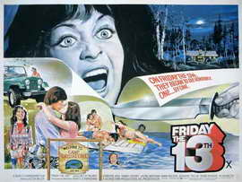 Friday the 13th - 30 x 40 Movie Poster UK - Style A