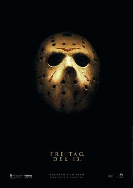 Friday the 13th - 27 x 40 Movie Poster - German Style A