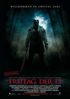 Friday the 13th - 27 x 40 Movie Poster - German Style B