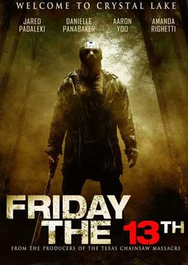 Friday the 13th - 11 x 17 Movie Poster - UK Style A