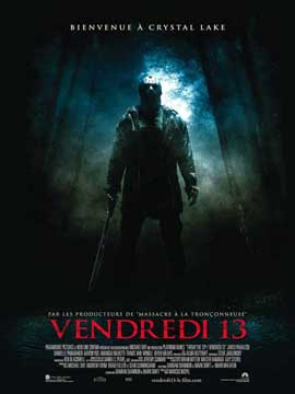 Friday the 13th - 11 x 17 Movie Poster - French Style B