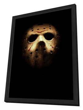 Friday the 13th - 11 x 17 Movie Poster - Style A - in Deluxe Wood Frame