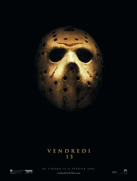 Friday the 13th - 43 x 62 Movie Poster - French Style A