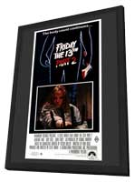 Friday the 13th, Part 2 - 11 x 17 Movie Poster - Australian Style A - in Deluxe Wood Frame