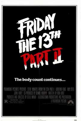 Friday the 13th, Part 2 - 11 x 17 Movie Poster - Style A