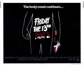 Friday the 13th, Part 2 - 11 x 14 Movie Poster - Style A