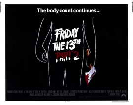 Friday the 13th, Part 2 - 22 x 28 Movie Poster - Half Sheet Style A
