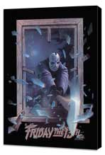 Friday the 13th, Part 3 - 11 x 17 Movie Poster - Style C - Museum Wrapped Canvas