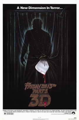 Friday the 13th, Part 3 - 11 x 17 Movie Poster - Style A