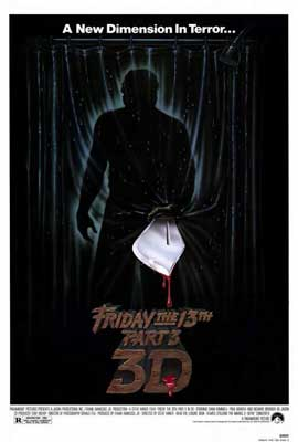 Friday the 13th, Part 3 - 27 x 40 Movie Poster - Style A
