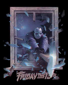 Friday the 13th, Part 3 - 27 x 40 Movie Poster - Style B